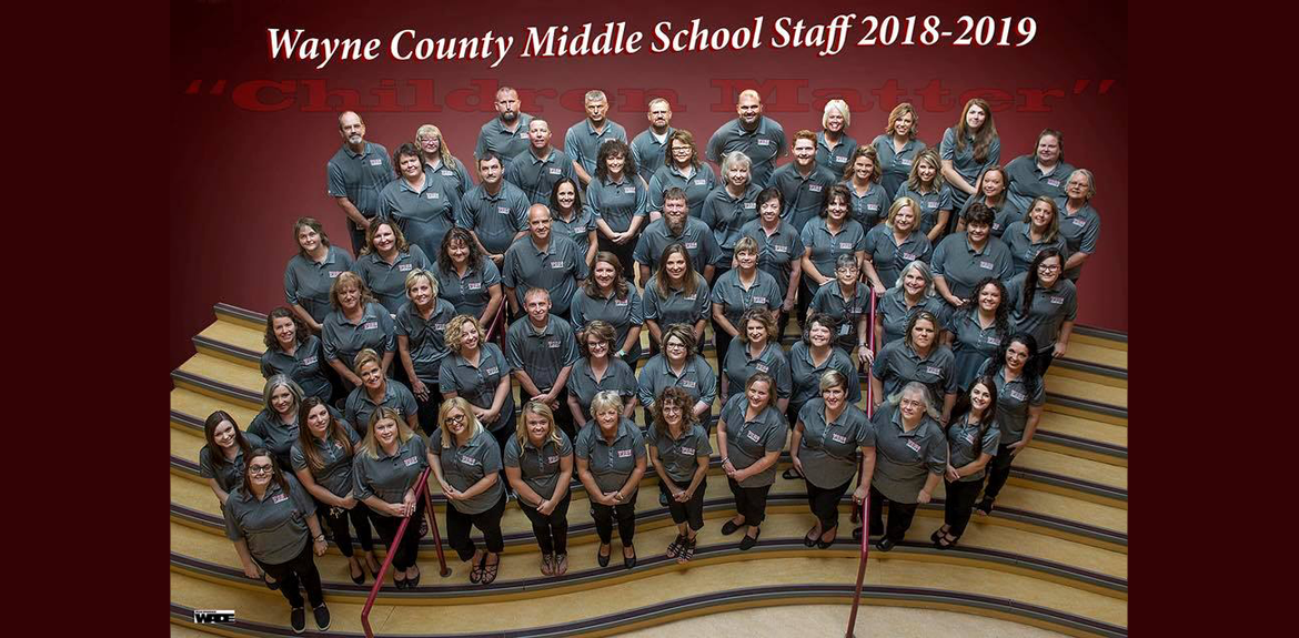 Wayne County Middle School's Staff 2018-19
