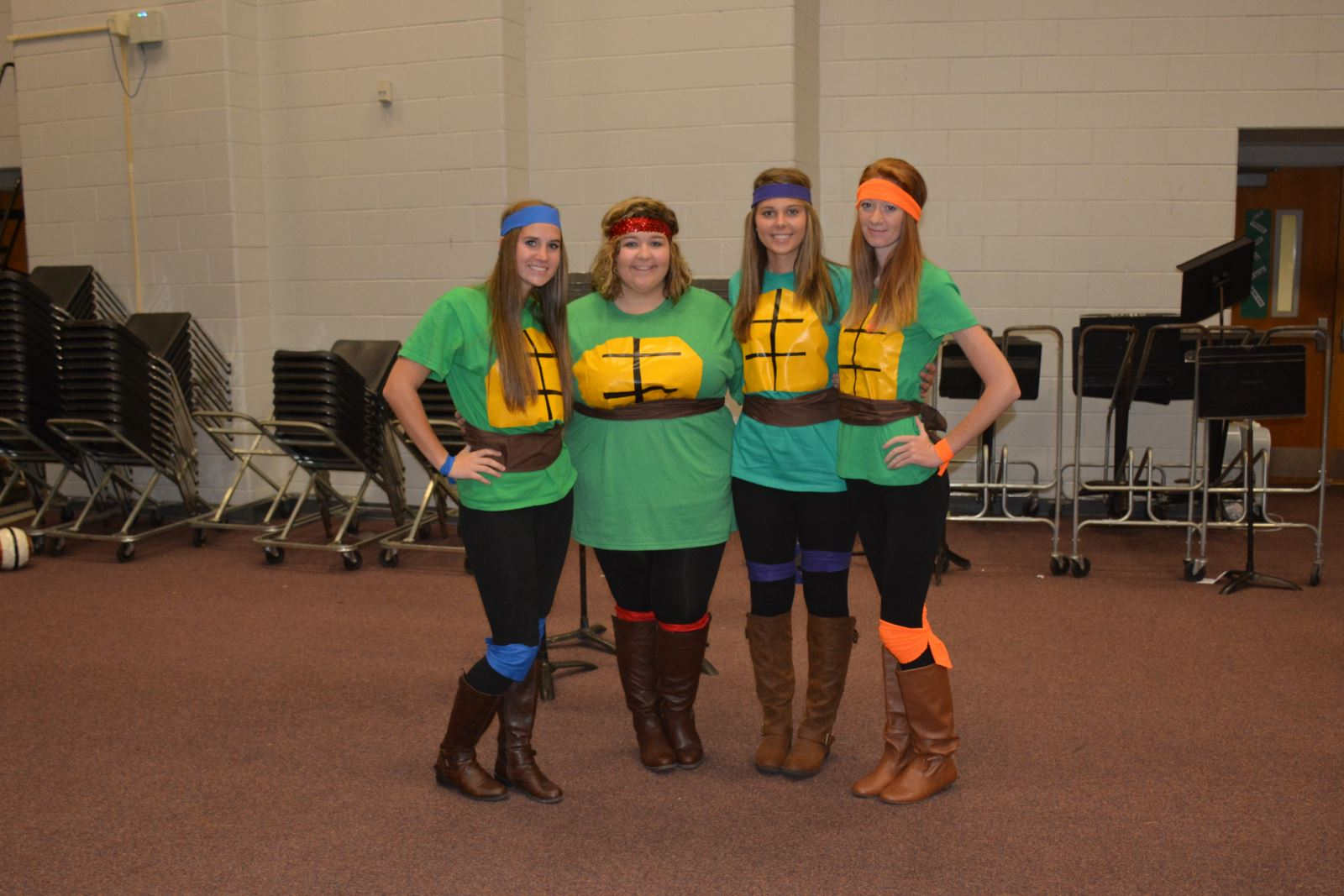 High Schoolers Have Fun Participating In Spirit Week Wayne County Area Technology Center