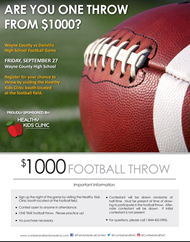 Are You One Throw From $1000?