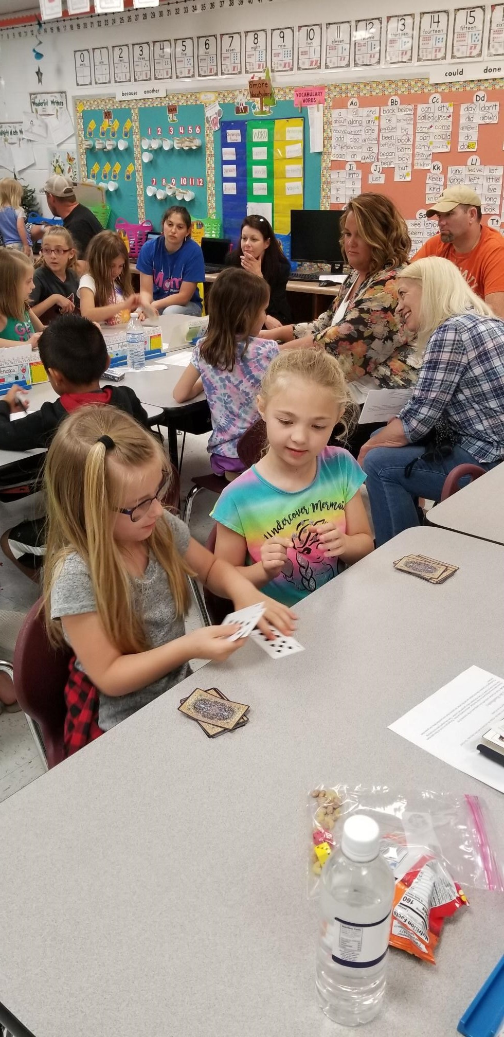 Enhancing math through card games