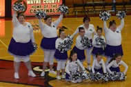 The Award Winning Special Olympic Cheerleaders