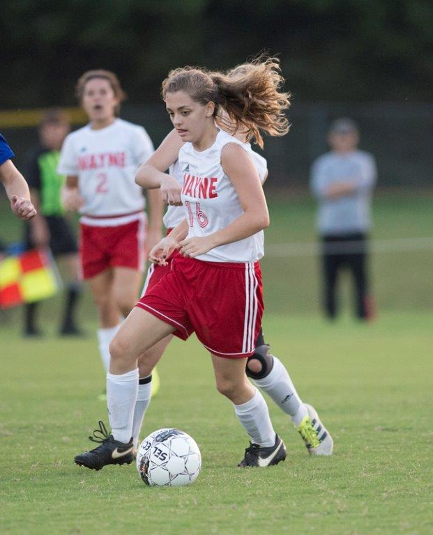 Girls Soccer Team advances to Region