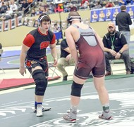 Jonathan Gregory on the mat
