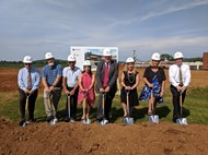 Board members break ground on ATC