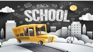 back to school bus logo