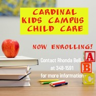 Cardinal Kids Campus Flyer