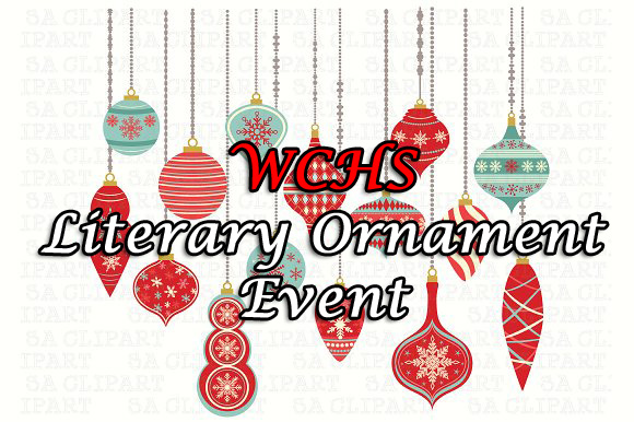 WCHS Literary Ornament