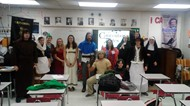 Canterbury Tales acted out by advanced placement students