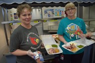 Middle School Cooks happy to provide meals through pick up service
