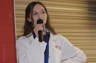 White Coat Ceremony held at the conclusion of the WCHS Project Lead the Way Classes