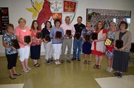 The Wayne County Board of Education recognized 19 employees who retired during the June monthly meeting