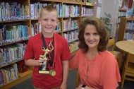 Bell Elementary Recognizes AR winner for 1st and 2nd grade