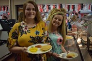 Senior Breakfast held on last day of school