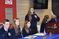 FFA Alumni students and families enjoyed the annual Awards Banquet