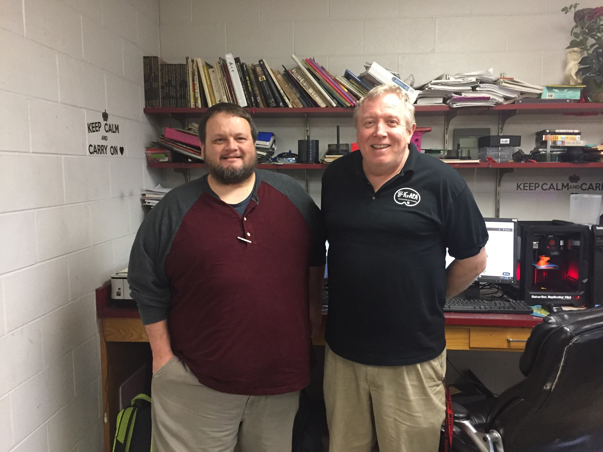 EKU Professor and Tim Withers
