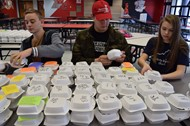 FCA sponsored Thanksgiving meals for shut-ins