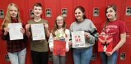 WCMS students provide art for yearbook