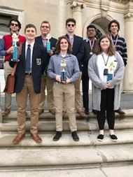 Eight high school students receive awards at DECA Regional competition