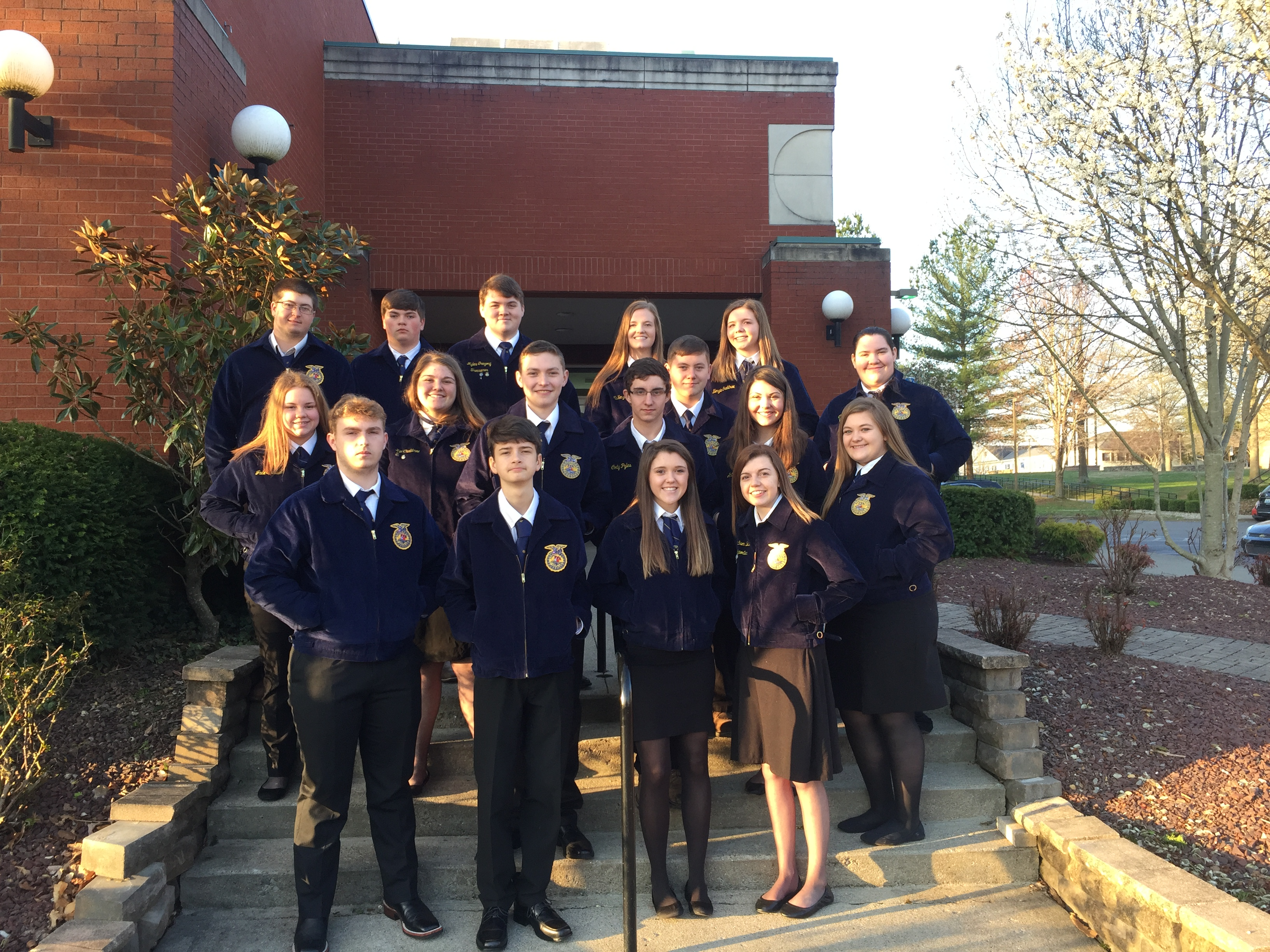 Regional Speaking Day Participants from Wayne County High School