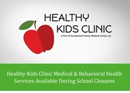 Healthy Kids Clinic graphic
