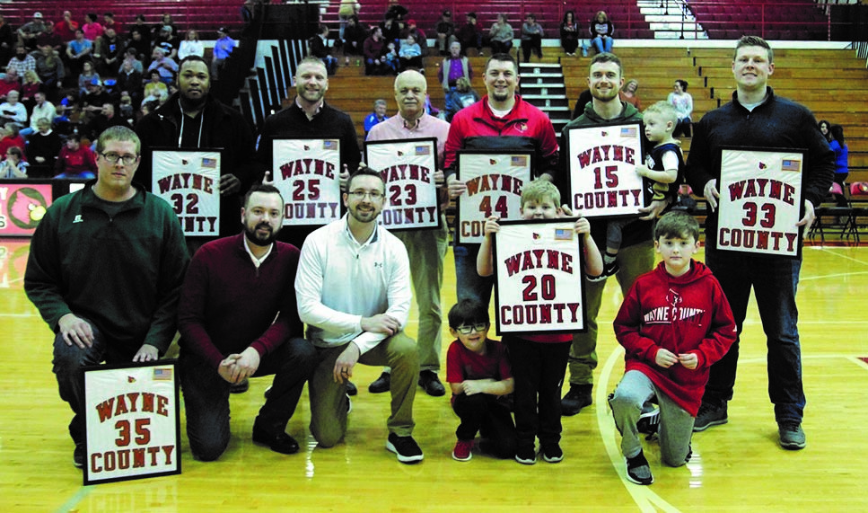 Regional Champions from 2004 honored