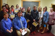 Student Travelers Recognized at January Board of Education Meeting