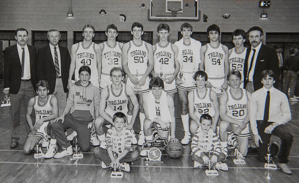 Monticello High School Basketball Team of 1987