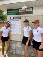 Girls Golf Team played at Lady Rocket Classic Tournament