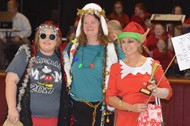 Monticello elementary ugly sweater contest winners