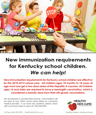 new immunization requirements