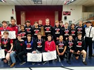 Mat Cards named Regional Champs