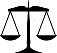 scales of justice illustrate the law