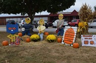 Schools participating in the 4tn annual Scarecrow Trail