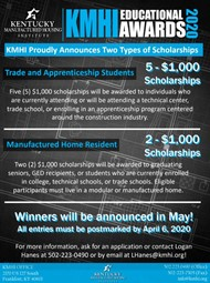 KHMI is Accepting Applications for Seven $1,000 Scholarship Awards