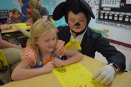 Family Learning Night was fun for kids dressed in costumes
