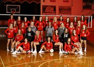 2019 Wayne County High School Volleyball Team