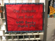 Sign in library recognizes reading accomplishment