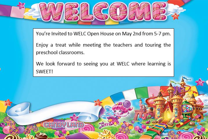 Candyland open house welcomes preschoolers