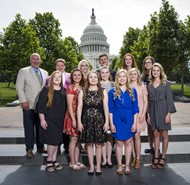 Wayne County students benefit from RECC annual trip to Washington D.C.