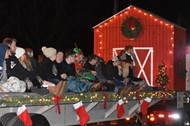 Wayne County Schools participated in local Christmas Parade