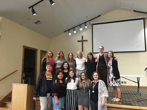 FCCLA students go extra mile at region