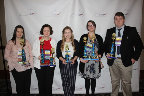 Five FBLA members placed at State