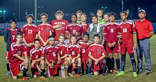 Wayne County Boys Soccer Team