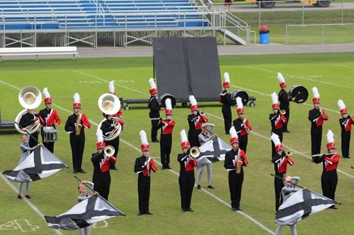 The band competed at state semi-finals this past spring