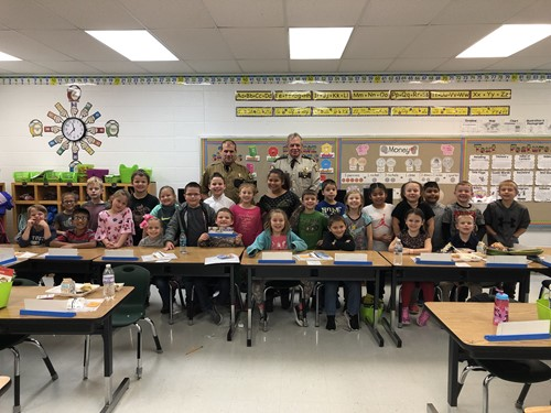 Bell Officer Appreciation Program Very Successful during 2018-19 School Year!