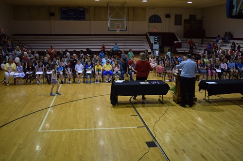 Third grade honors program held at Monticello Elementary School