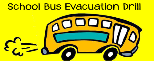 School Bus Evacuation Drill