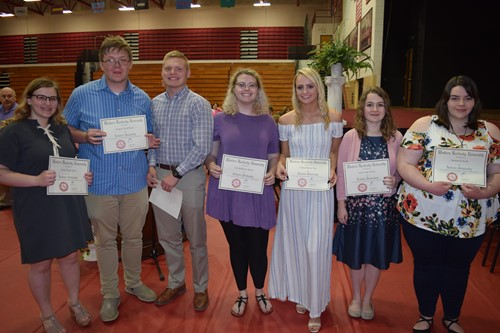 2019 WKU Scholarship recipients