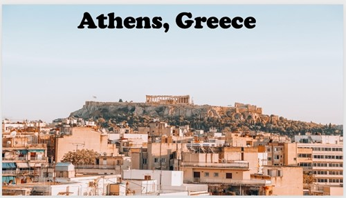 Scene from Athens, Greece