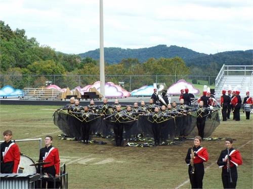 Wayne County Marching Band Competes in Pulaski Invitational